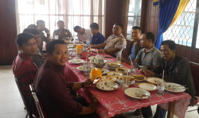 Kapolres Bersama Awak Media Rajut Silaturrahmi