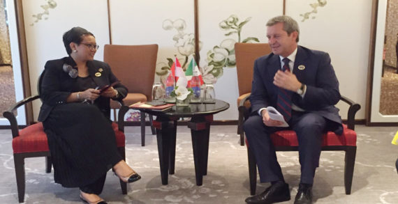 Indonesia Dan Italia Sepakat Tingkatkan Kerjasama Membangun Ekonomi