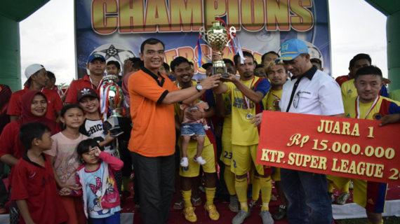 Kandaskan Perlawanan Peluru Fc, Porsas Fc Juara Persikat Super League