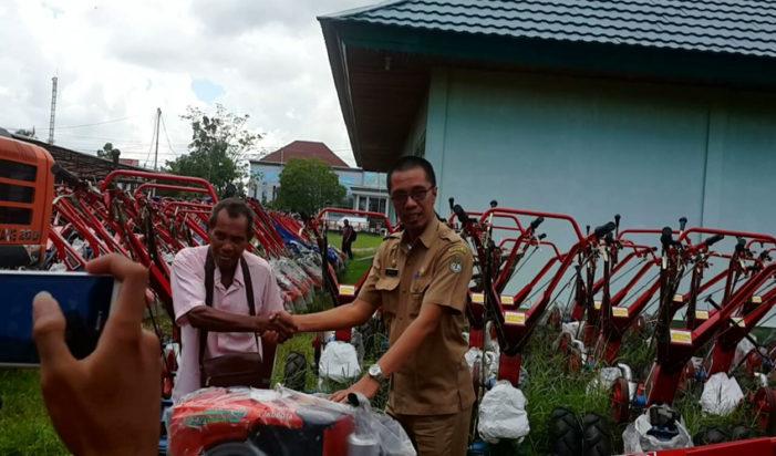 Bantuan Hand Tractor Jangan Di Perjual Belikan
