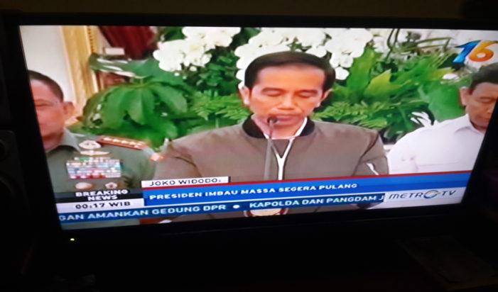 Presiden Jokowi: Ini Kita Lihat Ditunggangi Aktor Politik
