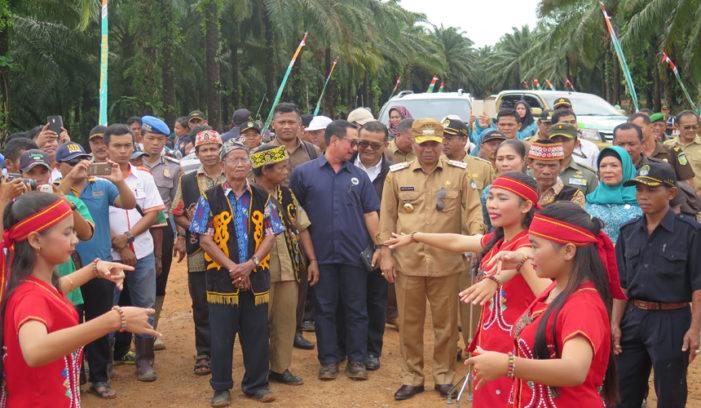 Masyarakat Dukung Pembangunan Pabrik PKS PT ISL