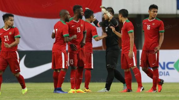 Babak Pertama Indonesia Ketingalan 0-1