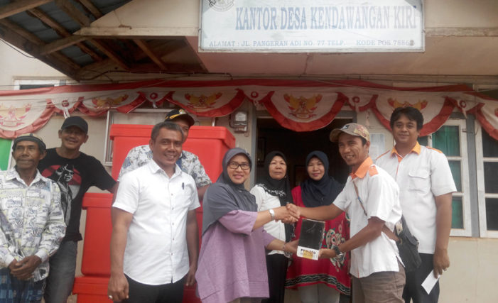 Program CSR, BGA Bantu Masyarakat Kendawangan  Kiri