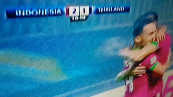 Akhirnya, Indonesia Pecundangi Thailand 2-1