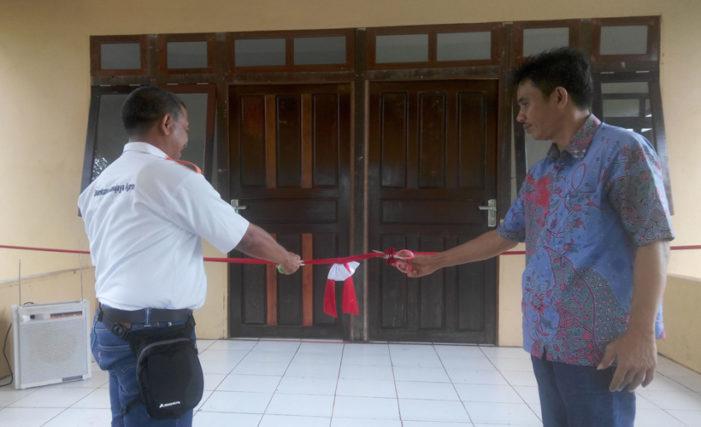 Program CSR, BGA Resmikan Gedung Balai Kesehatan Sukaria