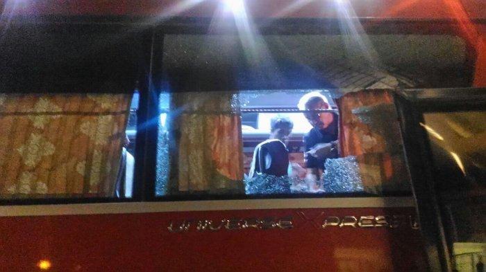 Usai Menang Dari Vietnam, Bus Timnas Indonesia di Lempari Batu