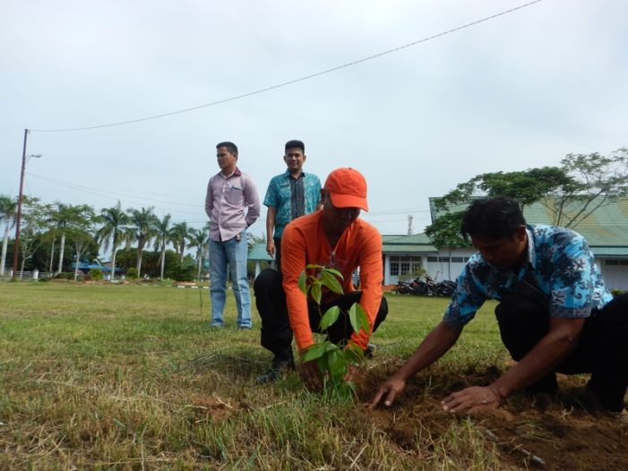 Bupati Tanam Pohon di Lingkungan Pendopo