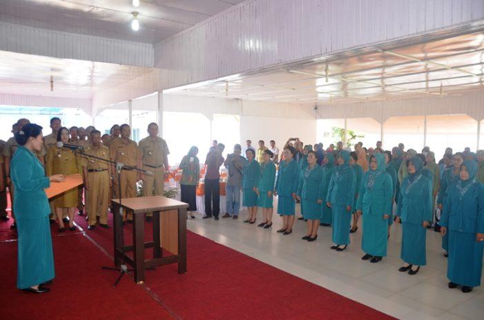 Elysabet Betty Martin Lantik 20 Ketua PKK Kecamatan