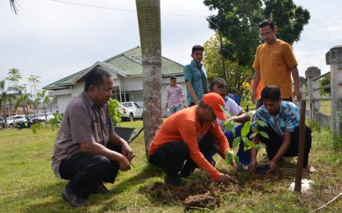 Bupati Imbau SKPD Serta Masyarakat Tanam Pohon