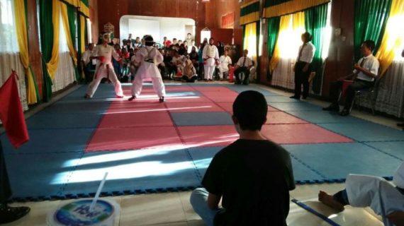 Kejuaran Karate Antar Pelajar Se-Kabupaten Ketapang
