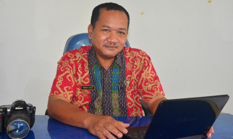 Drs Nugroho W Sistanto. M.Si. Kabag Humas dan Protokol