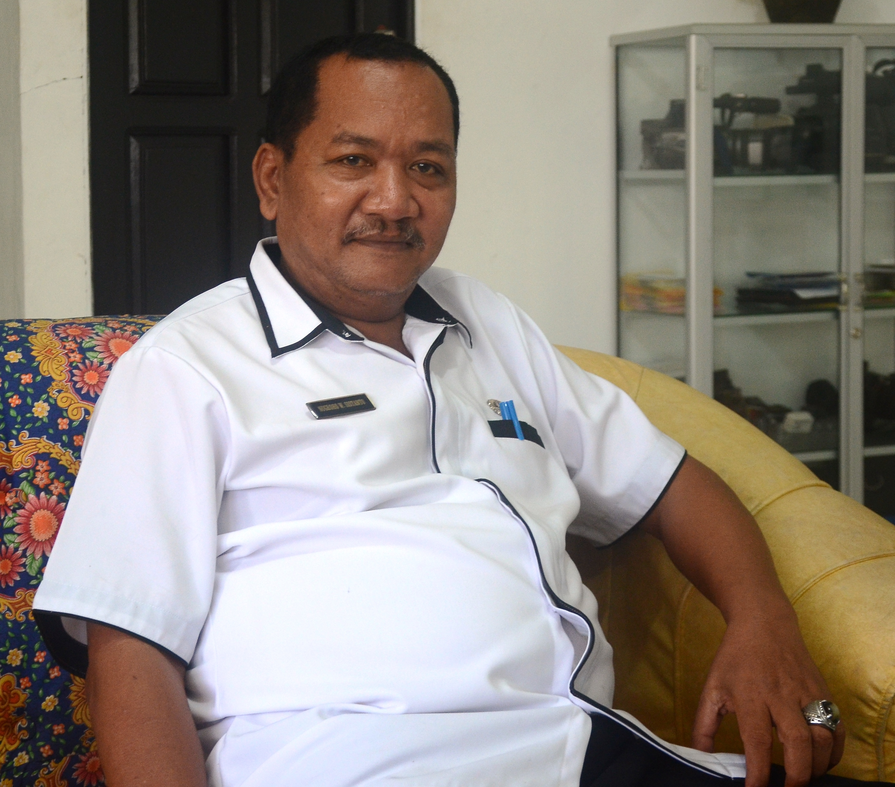 Kabag Humas dan protokol Drs Nugroho W Sistanto