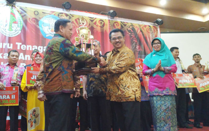 Ketapang Juara Umum GTK PAUD dan Dikmas