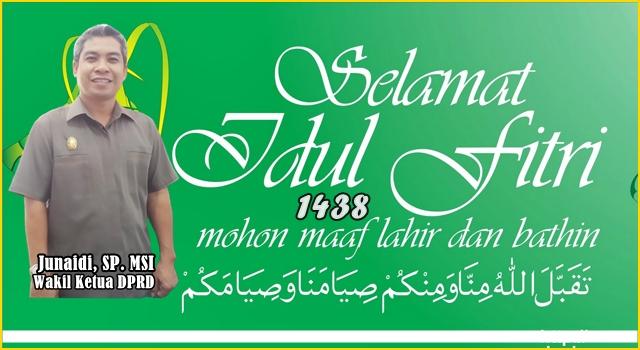 Junaidi: Idul Fitri
