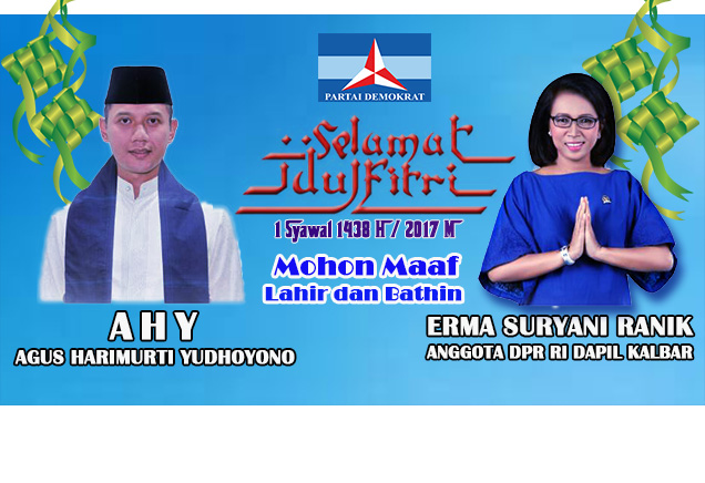 Iklan Idul Fitri DPR RI Erma Suryani Ranik