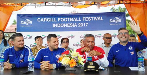 Cargill Datangkan Chelsea FC Foundation ke Ketapang
