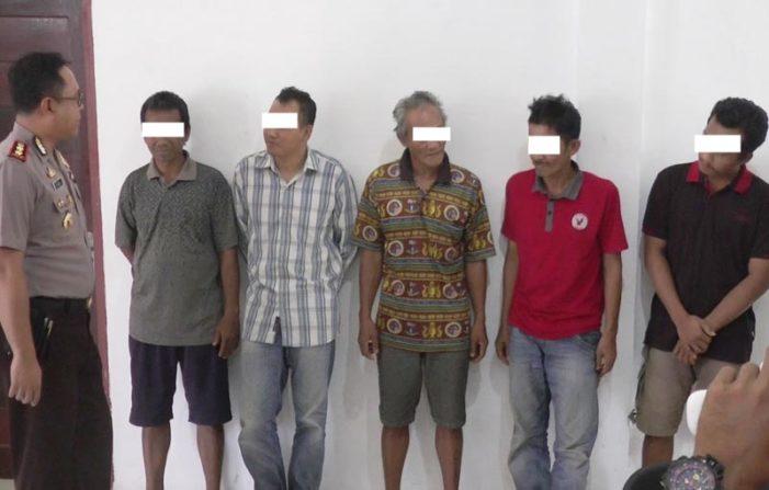 10 Pemain Judi Ditangkap, Tiga diantaranya PNS Kayong Utara