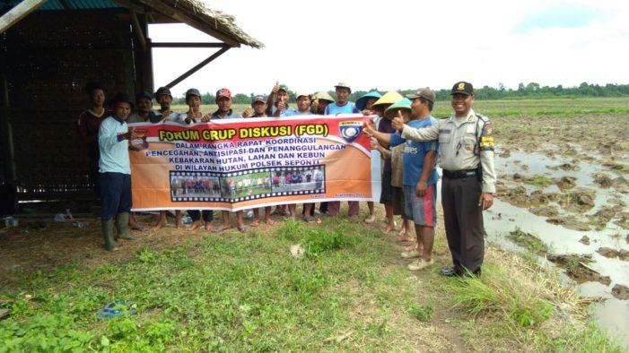 Petani Desa Seponti Jaya Tak Lagi Bakar Lahan