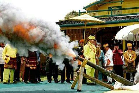 Utusan Kerajaan Jogjakarta Hadir di Festival Keraton Matan Tanjungpura
