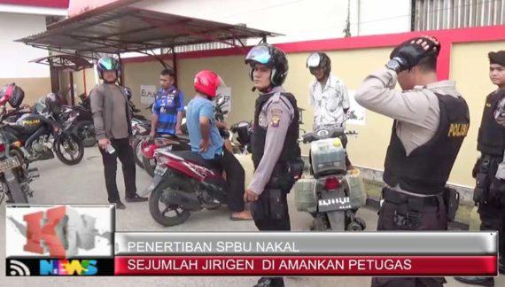 Video: Polres Razia SPBU Melayani Jeriken