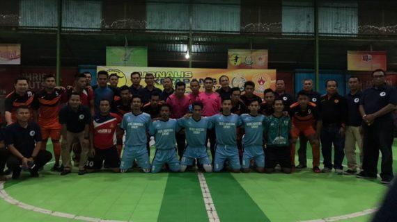 Kejuaran Futsal Jurnalis Cup Seri-IV Bergulir