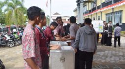 714 Siswa SMAN I Ketapang Ikut Pemilu OSIS
