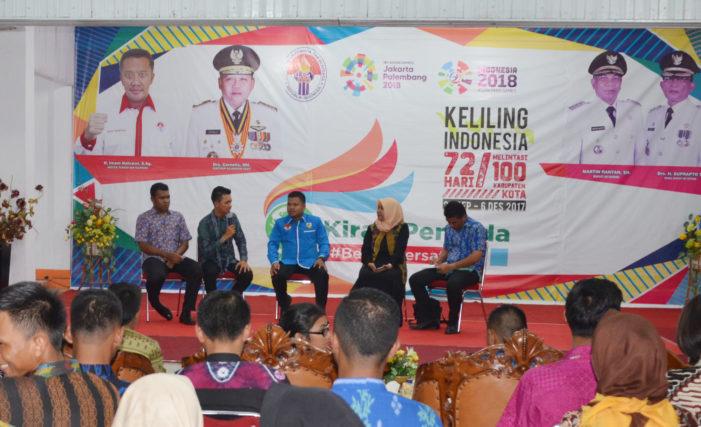 Ketapang Paling Antusias, Kirab Pemuda Jadi Program Unggulan