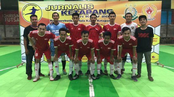 New Borneo Kembali Juara diTurnamen Jurnalis Cup Seri IV