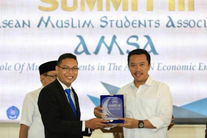Alumni STAI Al Haudl Terpilih Jadi Presiden AMSA Asean