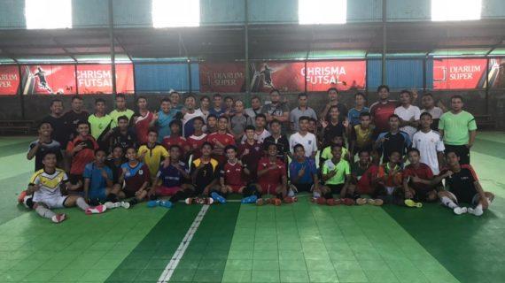 Pengurus Futsal Ketapang Umumkan Para Pemain Lulus Seleksi Pra Porprov