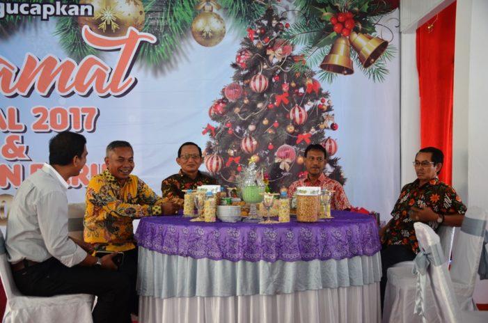Open House Natal Bupati Ketapang