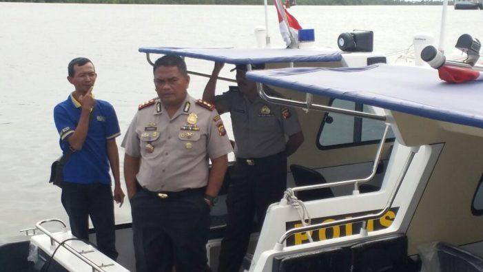 Mabes Polri Bantu Speed Boat Untuk Polres Ketapang