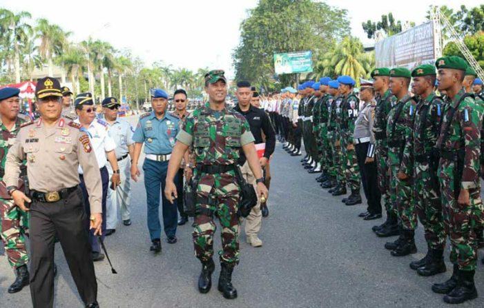 Dua Ribu Lebih Personil TNI Siap Jaga Keamanan Natal dan Tahun Baru