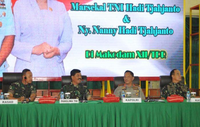 Memasuki Tahun Pemilu, TNI dan Polri Jaga Netralitas