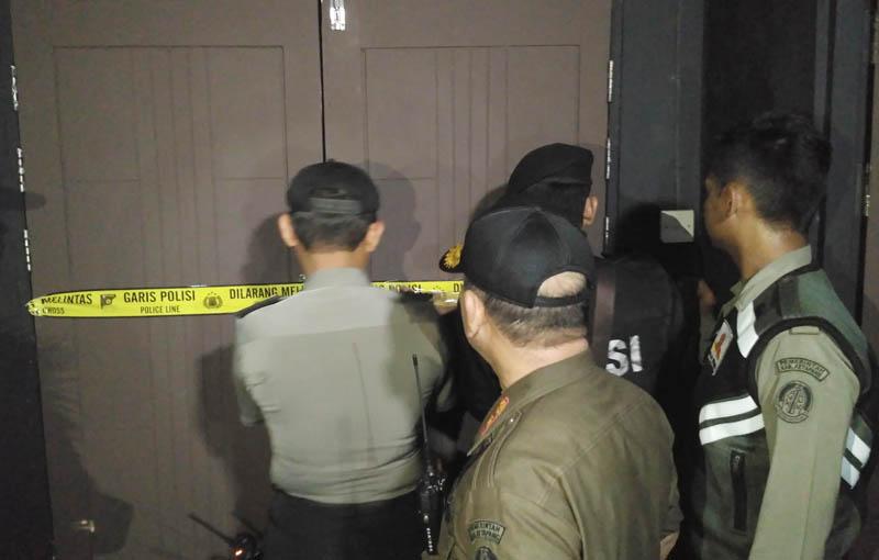 THM Borneo Di Police Line