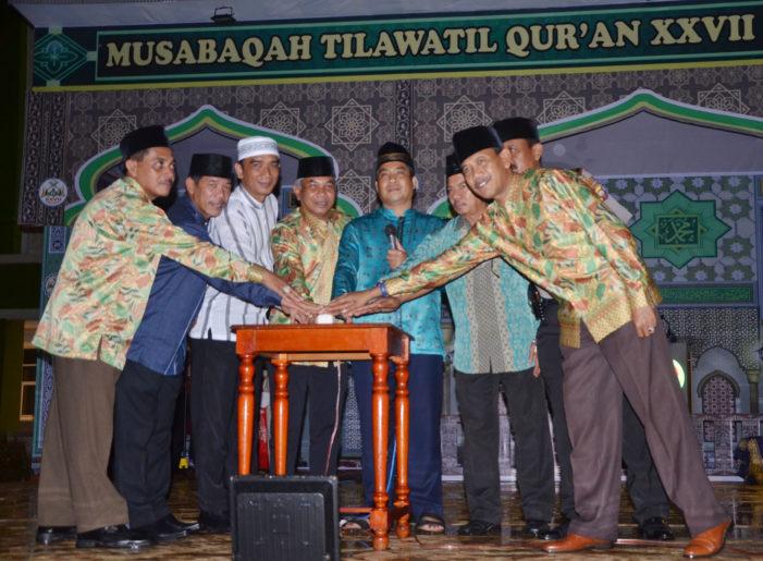 Bupati Buka MTQ XXVII Tingkat Kabupaten Ketapang