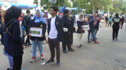 Aksi Mahasiswa Kayong Utara di Semarang Untuk Suku Asmat