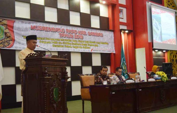 Lima Prioritas Pembangunan 2019 Kabupaten Sambas