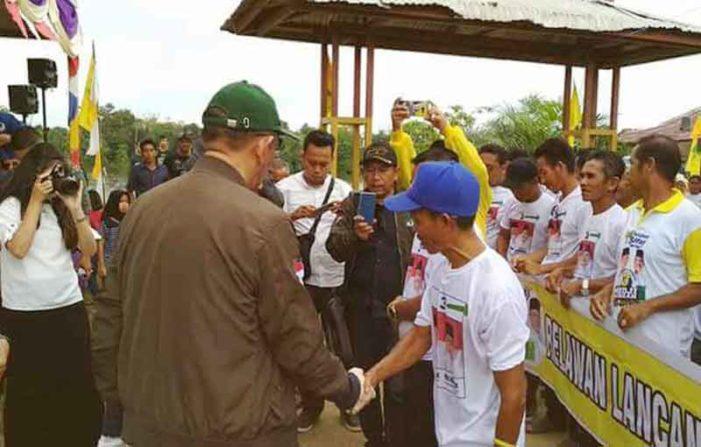 Safari Kampanye, Midji – Norsan Sempatkan Ziarah ke Makam Tanjungpura