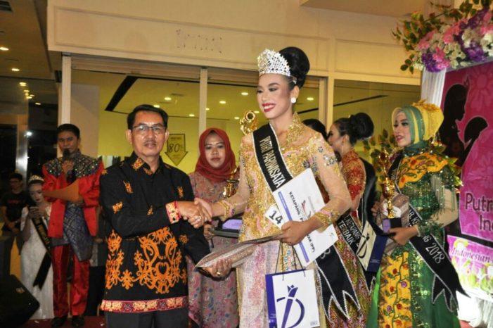 Dian Lestari Pemenang Putri Pariwisata 2018