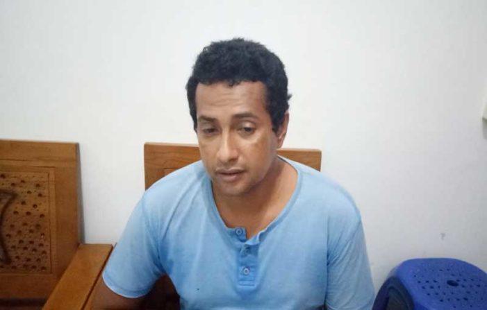 Polisi Bekuk Warga Desa Padang Karena Sabu
