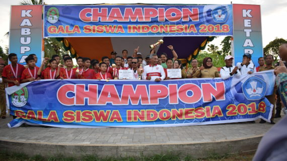 Champion GSI 2018, Delta Pawan Juara Pertama