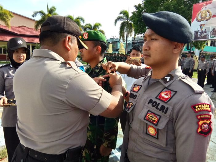 Polres Ketapang Gelar Pasukan Operasi Bina Karuna Kapuas 2018, Ini Pesan Kapolda Kalbar
