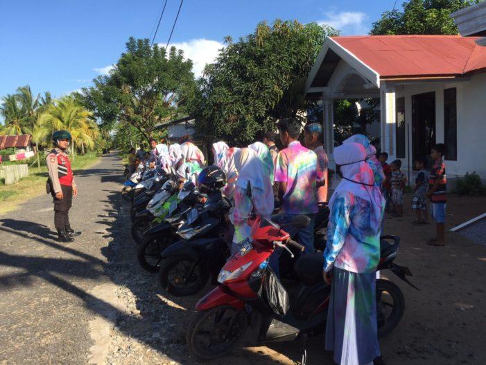Patroli Sabhara Polres Ketapang Cegah Konvoi Siswa