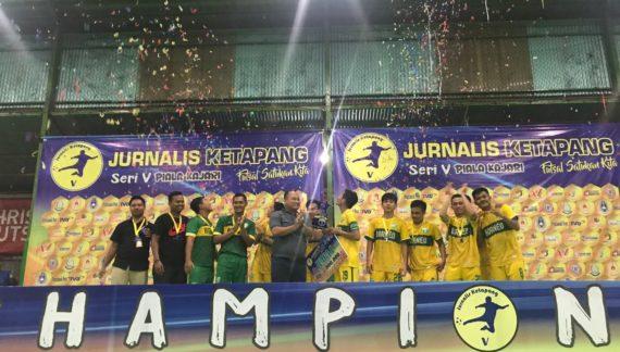 Piala Kajari, Tim futsal New Borneo Juara 1