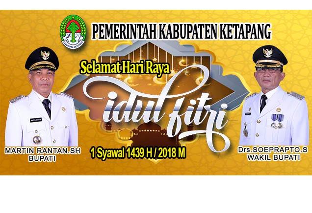 Iklan Idul Fitri Pemkab Ketapang