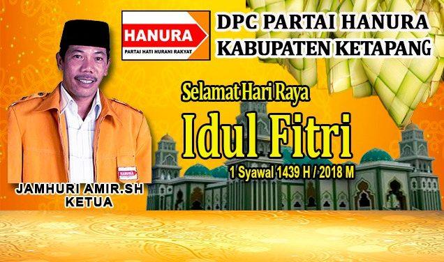 Iklan Idul Fitri DPC Hanura Ketapang