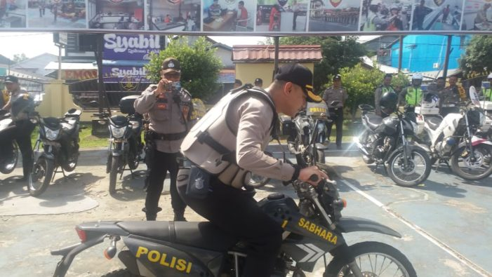 Siap Hadapi Pilkada, Polres Ketapang Cek Kesiapaan Kendaraan Operasional