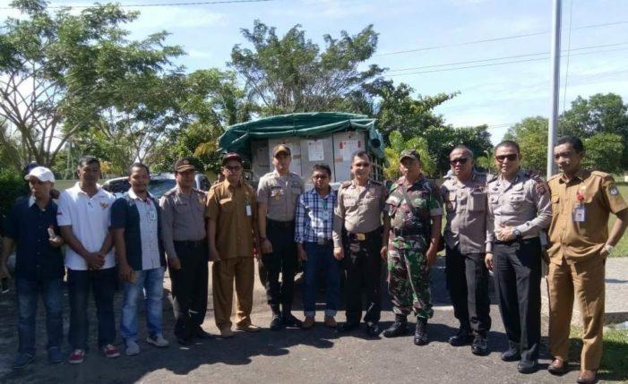 PPK Benua Kayong Distribusikan Surat Suara ke 82 TPS